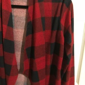 impressions Boutique Sweaters - Plaid Cardigan